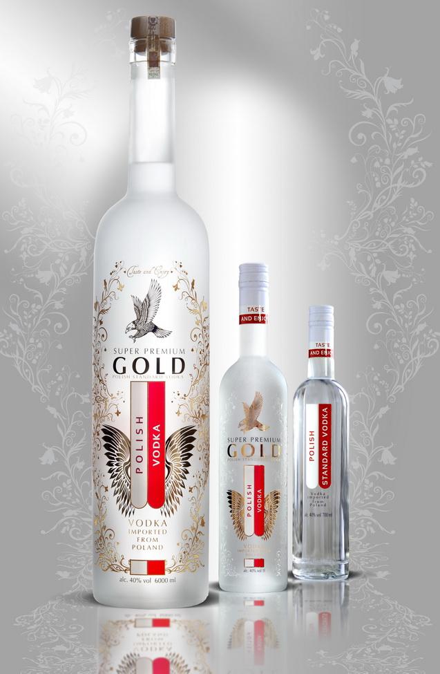 Polish Super Premium Gold & Polish Standard Vodka Family